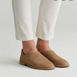 Eileen Fisher Tumbled Nubuk Depan Loafer